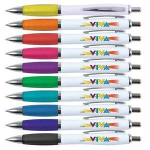 Viva Pen - White Barrel